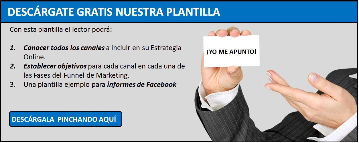 Plantilla Estrategia Facebook
