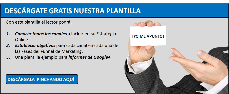 Plantilla Estrategia Google Plus